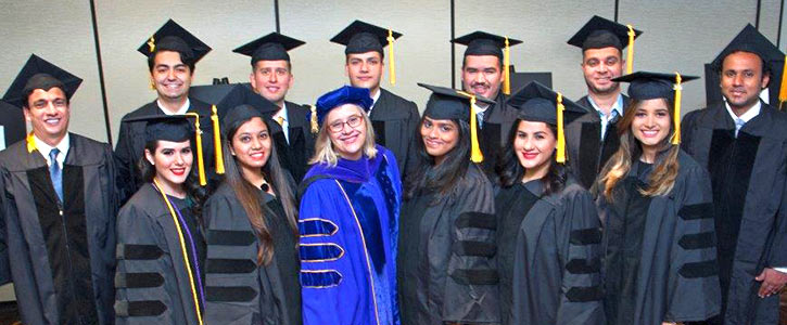 A gradutating class of Foreign Language LL.M. students