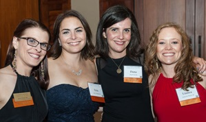 A group of alumni at the Distinguished Alumni Awards and Reunion Celebration