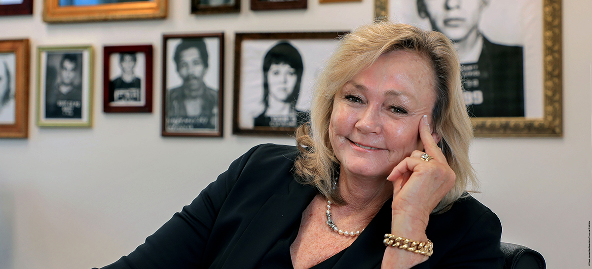 Mary Ellen Attridge '87 | © Charlie Neuman/San Diego Union-Tribune via ZUMA Wire
