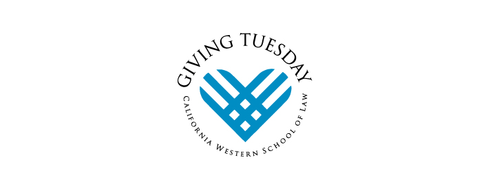 Giving Tuesday California Western School of Law