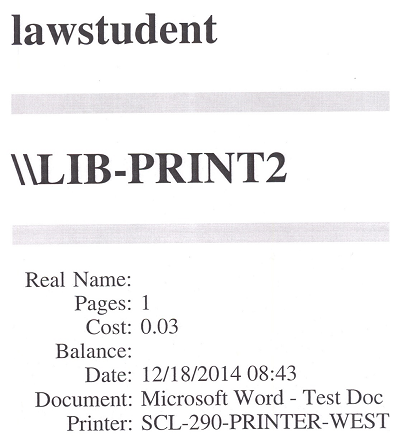 printers student computer labs california western of law