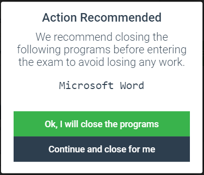 Close MS Office Programs