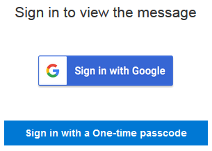 Sign in to read email