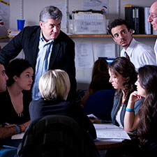 Students participating in the California Innocence Project