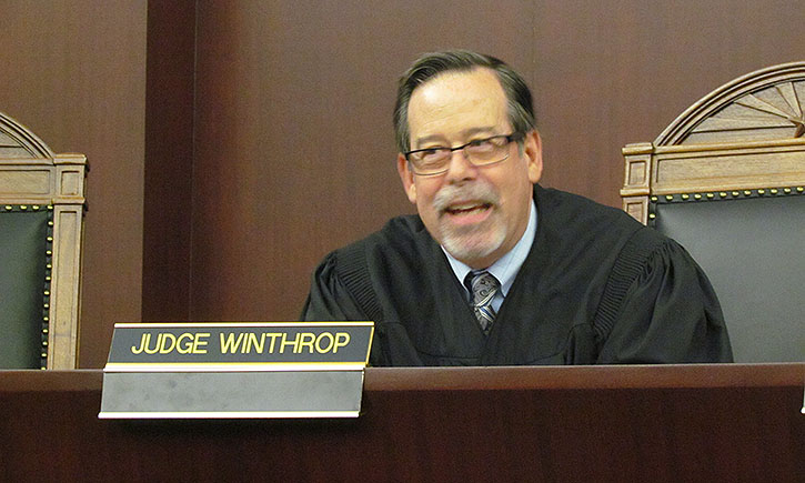 Arizona Appeals Court Judge Lawrence Winthrop, '77
