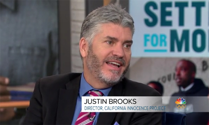 Justin Brooks on Megyn Kelly Today