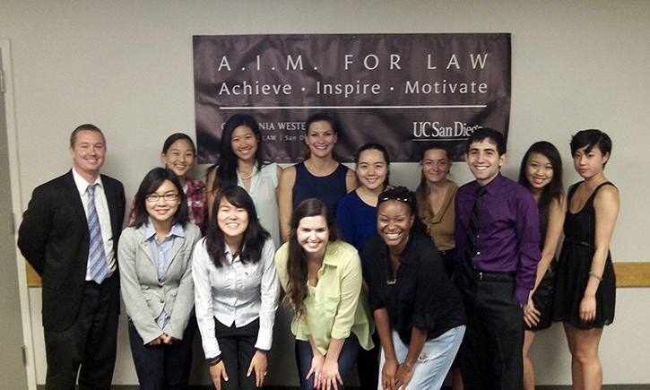 2013 Graduates of A.I.M. for Law at UC San Diego