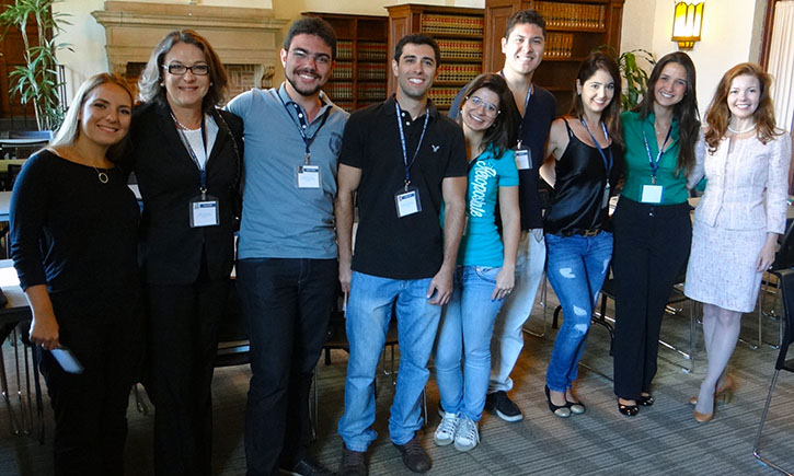 Brazilian students visit California Western