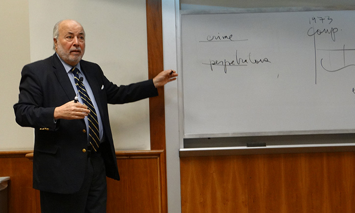 Judge Juan Guzmán presents the 2014 S. Houston Lay Lecture