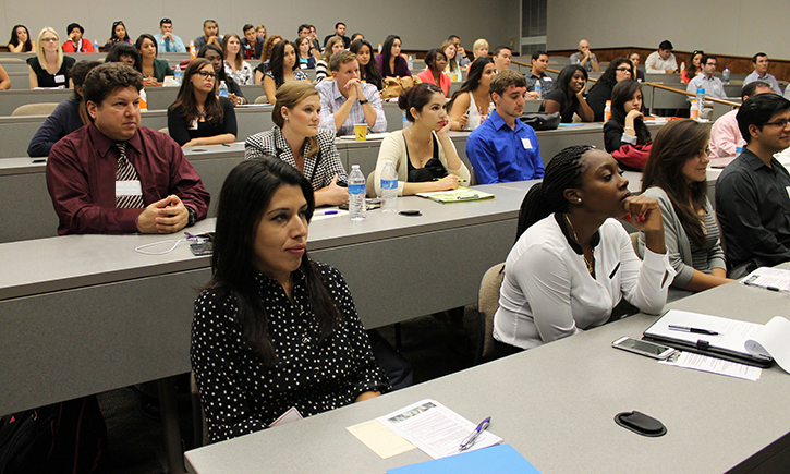 California Western First Year Students at Orientation