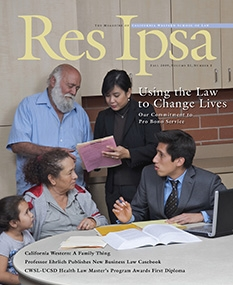 Res Ipsa Cover - Fall 2009