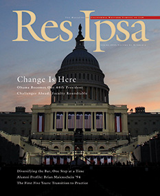 Res Ipsa Cover - Spring 2009