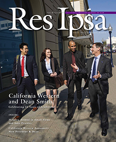 Res Ipsa Cover - Spring 2012