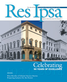 Res Ipsa Cover - Summer 2014