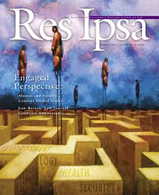 Res Ipsa Cover - Winter 2011