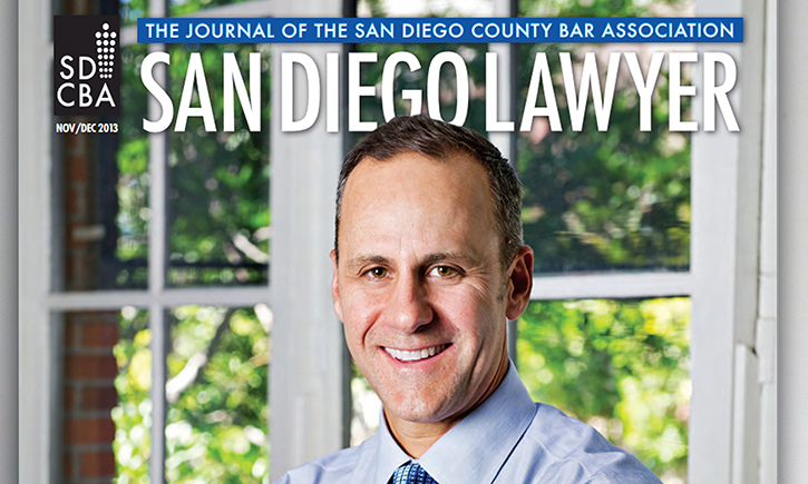 California Western shines in latest issue of San Diego Lawyer magazine