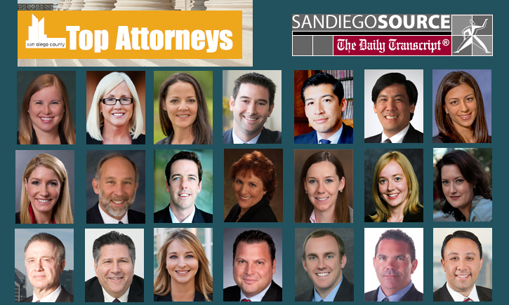 Graphic for SDDT Top Attorneys