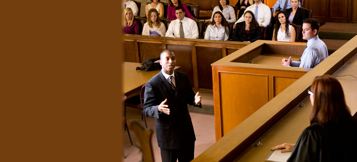 Students compete in trial and oral advocacy competitions