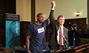 California Innocence Project celebrating the release of Brian Banks