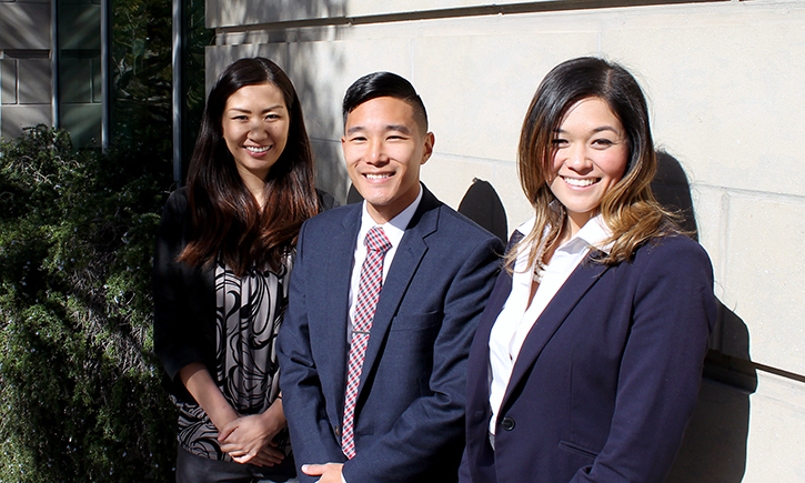 PALSD-FALSD Scholarship recipients from California Western