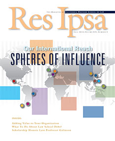 Res Ipsa Cover - Fall 2013