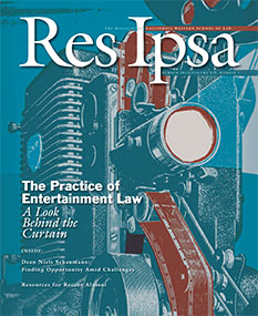 Res Ipsa Cover - Summer 2013